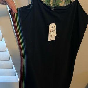 Express pride mini dress